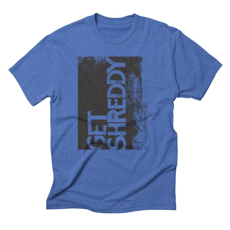 Get Shreddy Block Men's Triblend T-Shirt by CRANK. outdoors + music lifestyle clothing