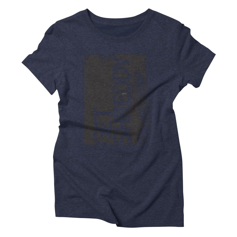 Get Shreddy Block Women's Triblend T-Shirt by CRANK. outdoors + music lifestyle clothing