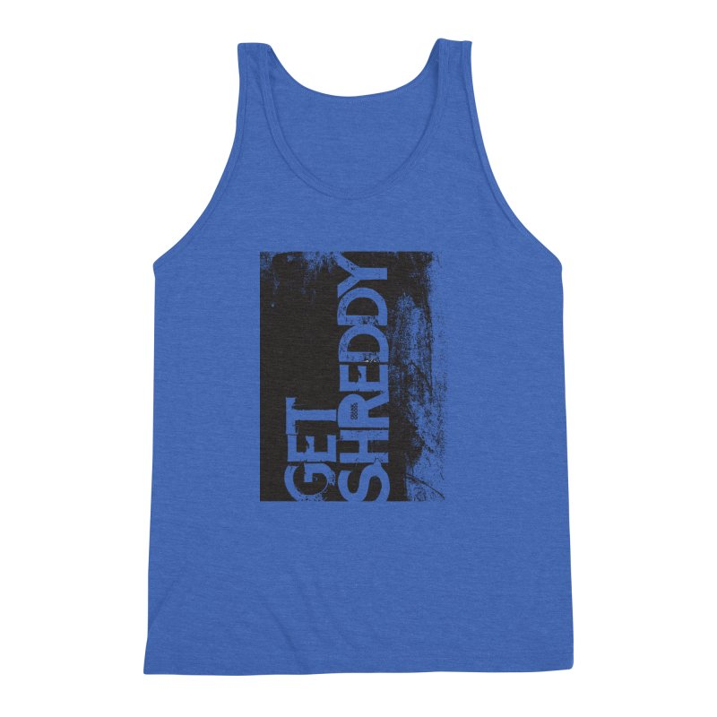 Get Shreddy Block Men's Triblend Tank by CRANK. outdoors + music lifestyle clothing