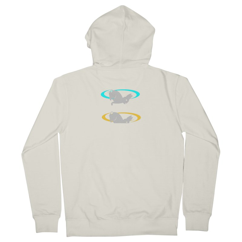 logo Men's Zip-Up Hoody by crankyashley's Shop