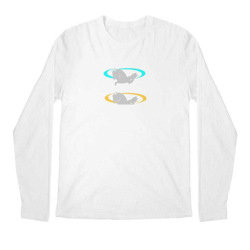 logo Men's Regular Longsleeve T-Shirt by crankyashley's Shop