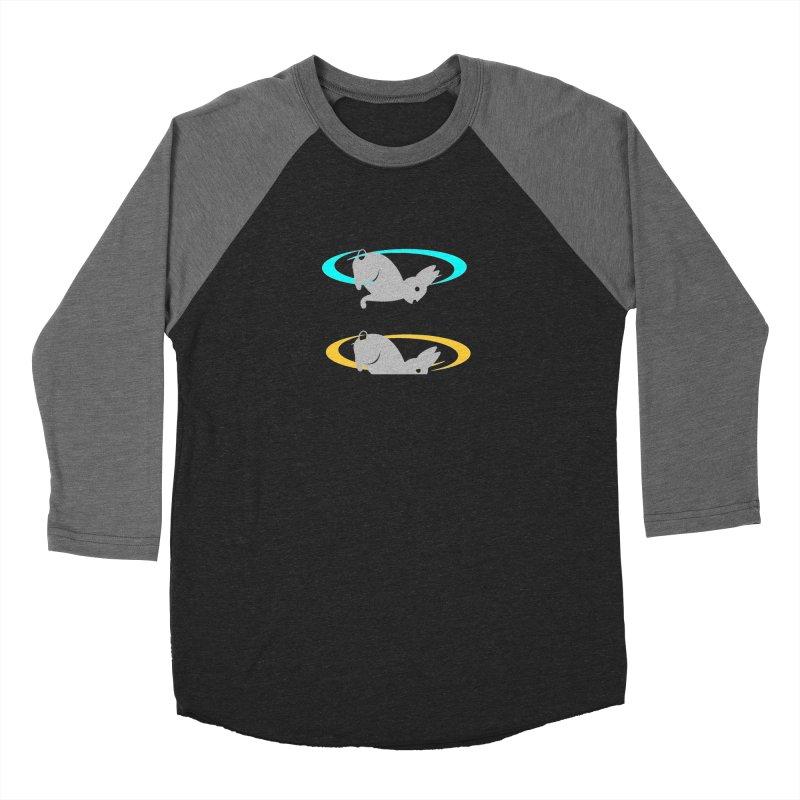 logo Men's Baseball Triblend Longsleeve T-Shirt by crankyashley's Shop