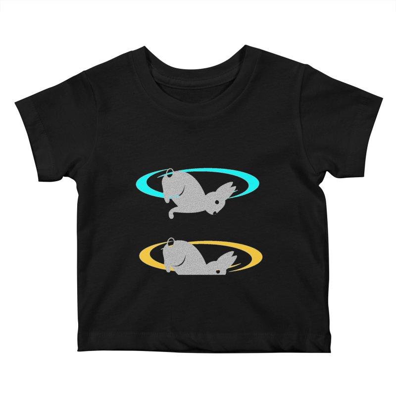 logo Kids Baby T-Shirt by crankyashley's Shop