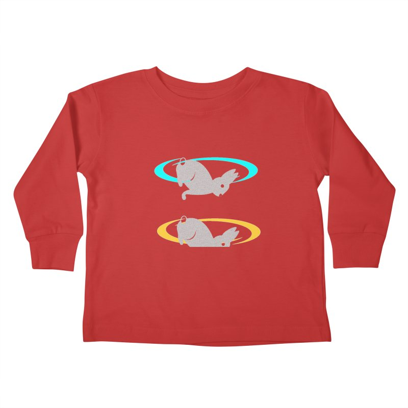 logo Kids Toddler Longsleeve T-Shirt by crankyashley's Shop