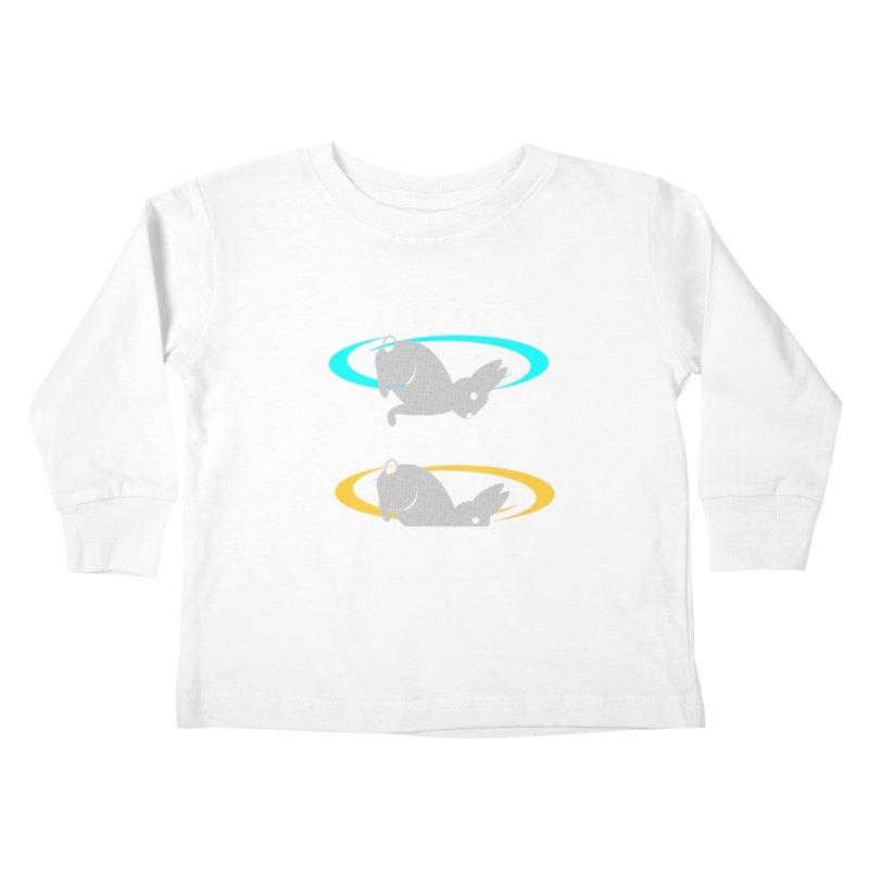 logo Kids Toddler Longsleeve T-Shirt by crankyashley's Shop