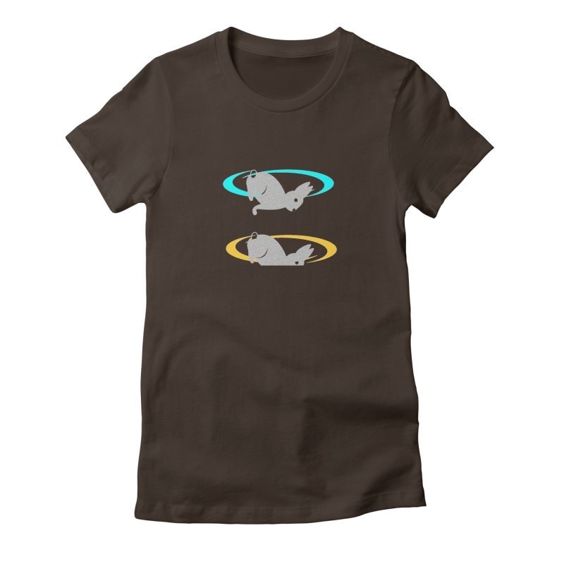 logo Women's Fitted T-Shirt by crankyashley's Shop