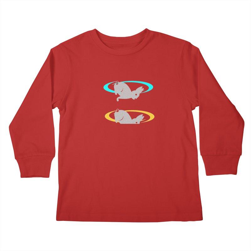 logo Kids Longsleeve T-Shirt by crankyashley's Shop