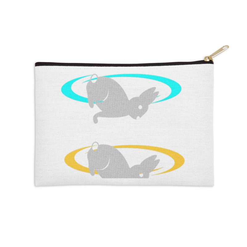 logo Accessories Zip Pouch by crankyashley's Shop
