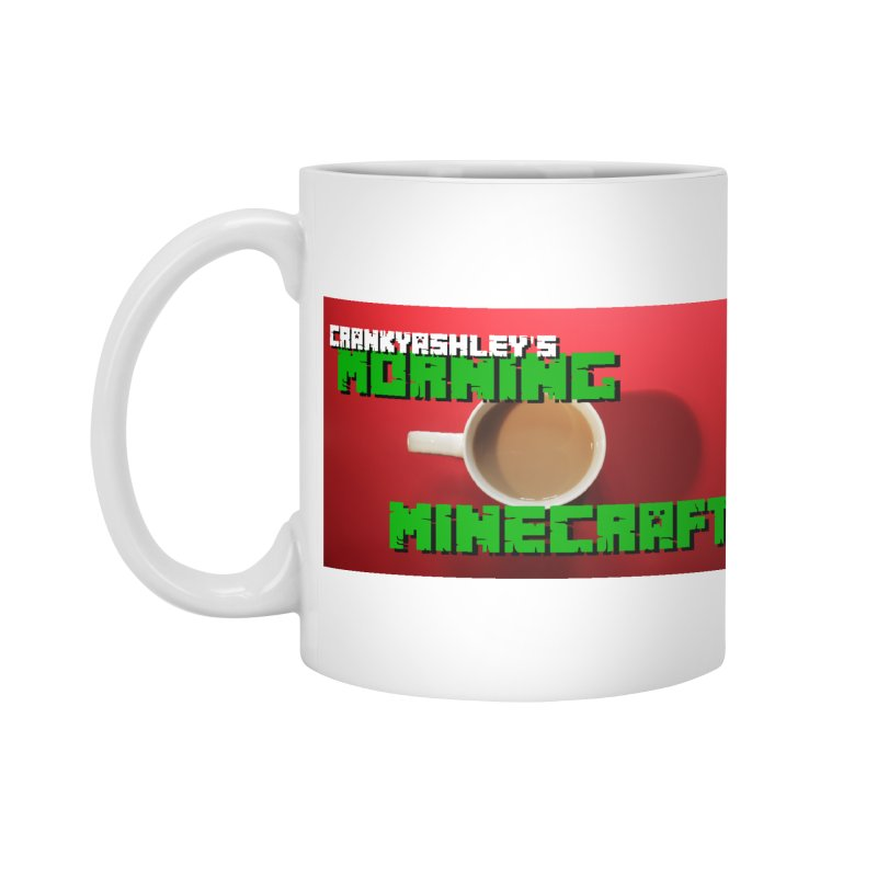 Morning Minecraft Accessories Mug by crankyashley's Shop