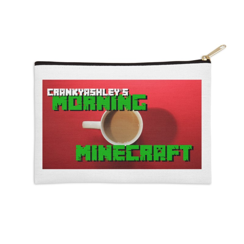 Morning Minecraft Accessories Zip Pouch by crankyashley's Shop