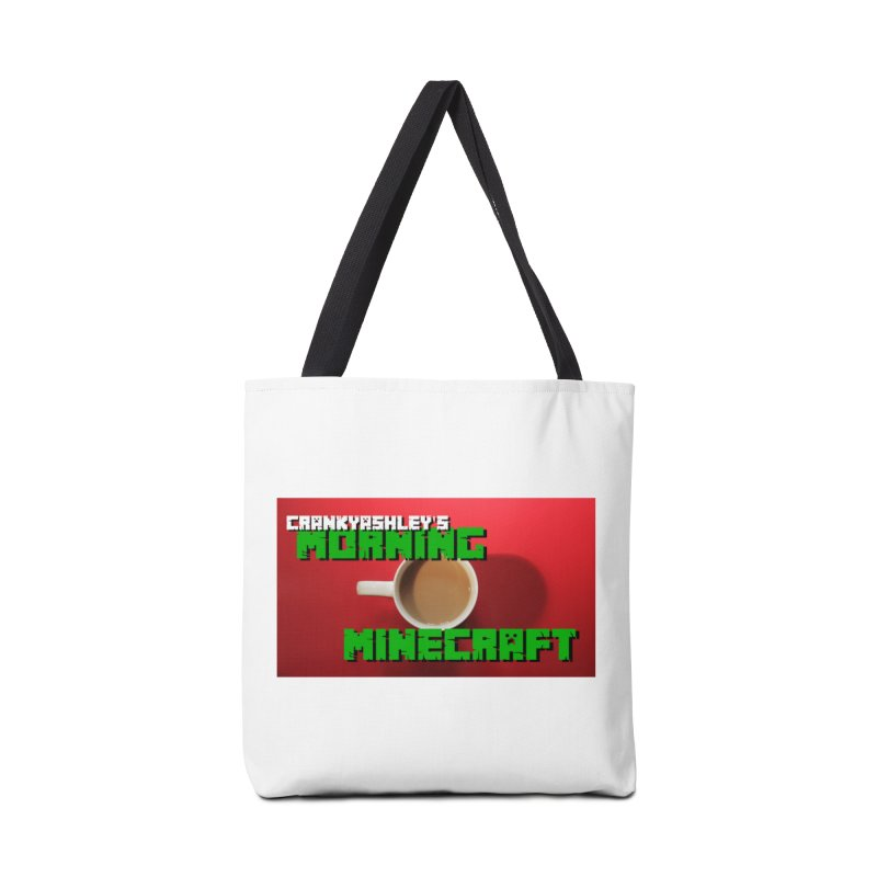 Morning Minecraft Accessories Bag by crankyashley's Shop