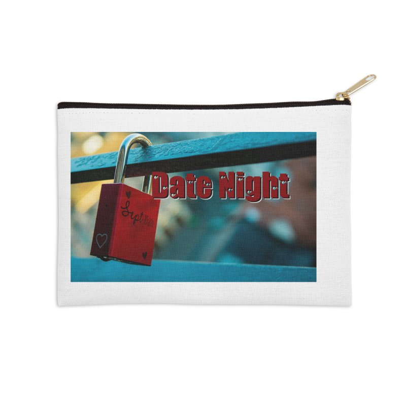 Date Night Accessories Zip Pouch by crankyashley's Shop