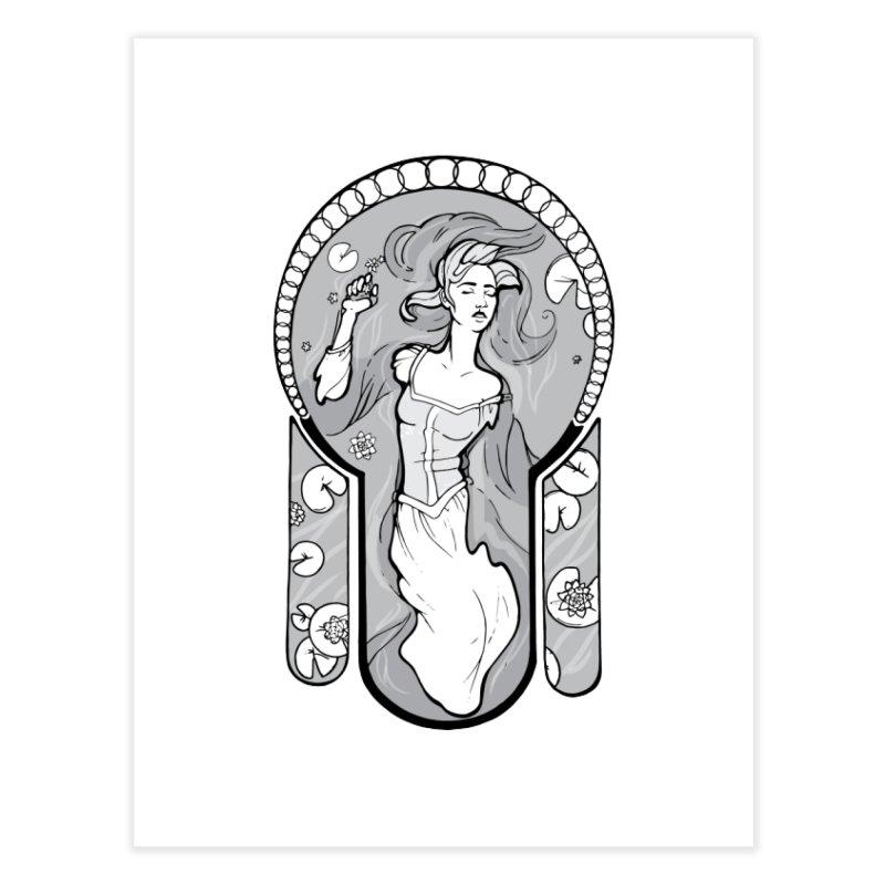 Ophelia Home Fine Art Print by Crantastic Graphics