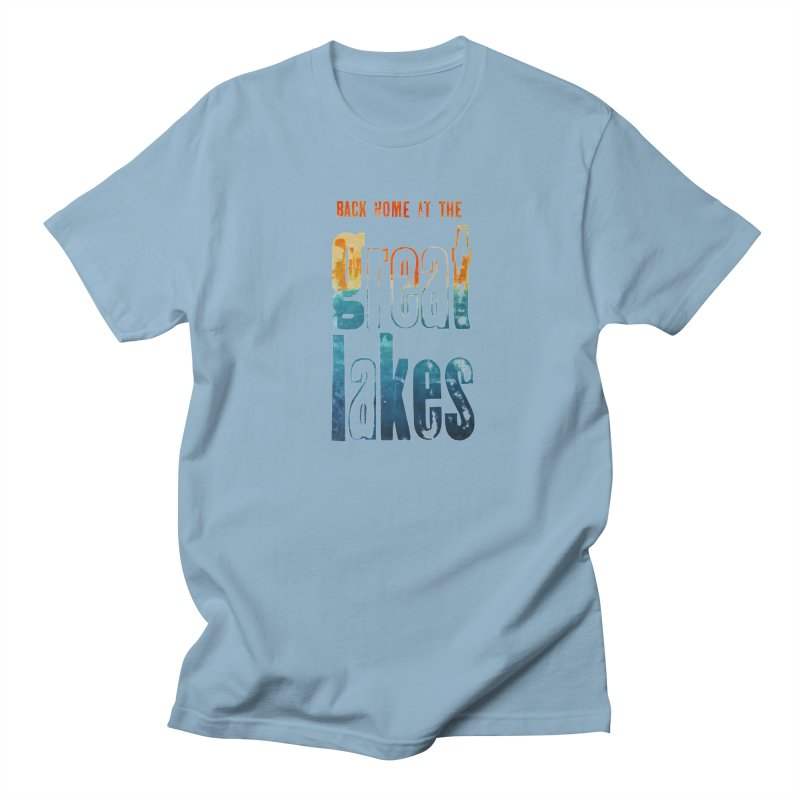 Back Home at the Great Lakes Women's Unisex T-Shirt by Crantastic Graphics