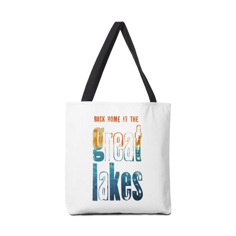 Back Home at the Great Lakes Accessories Bag by Crantastic Graphics