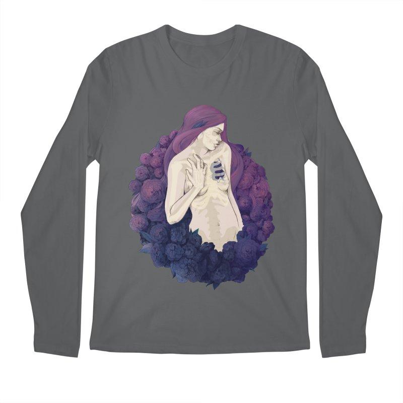 Camellia Men's Longsleeve T-Shirt by Crantastic Graphics
