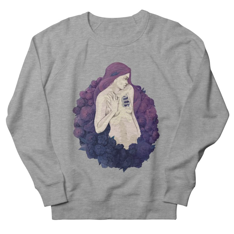 Camellia Women's Sweatshirt by Crantastic Graphics