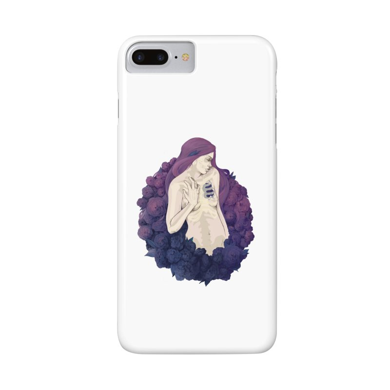 Camellia Accessories Phone Case by Crantastic Graphics