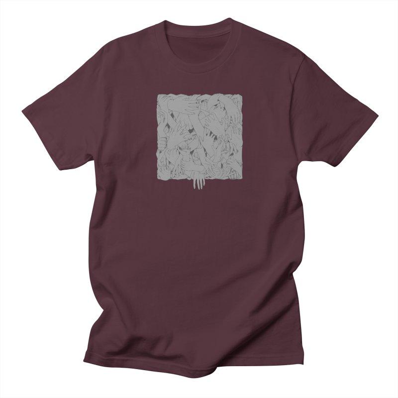 Handsy Women's Unisex T-Shirt by Crantastic Graphics