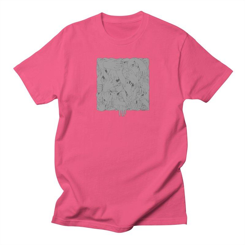 Handsy Men's T-shirt by Crantastic Graphics