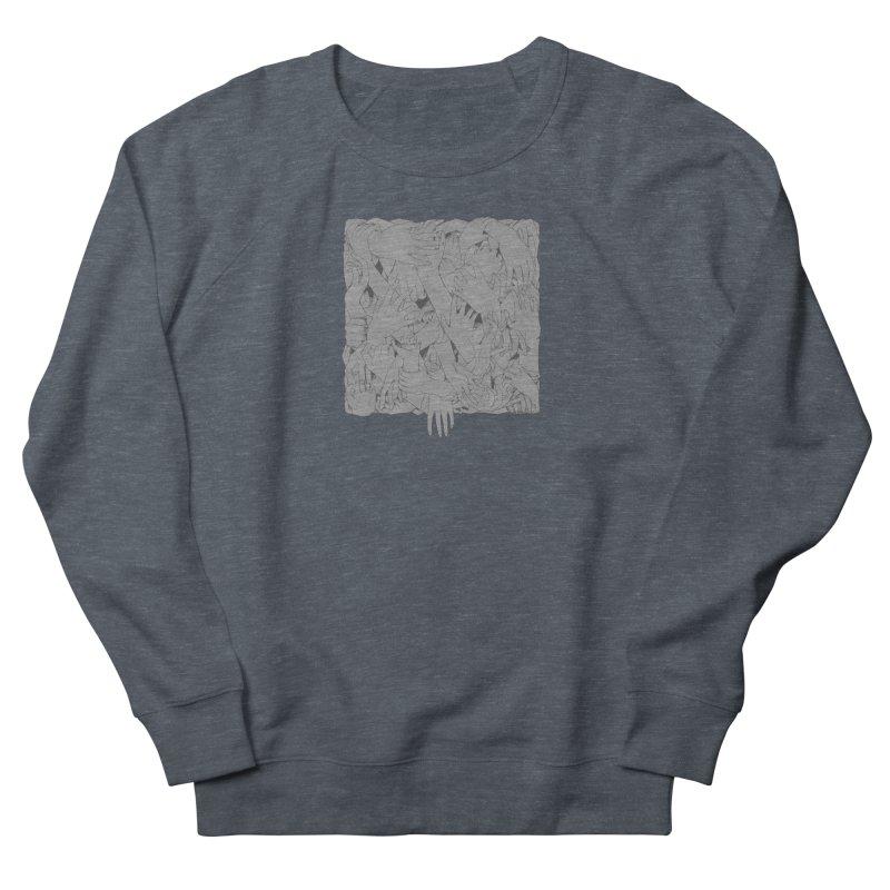 Handsy Men's Sweatshirt by Crantastic Graphics