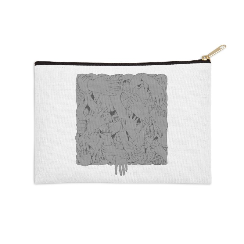 Handsy Accessories Zip Pouch by Crantastic Graphics