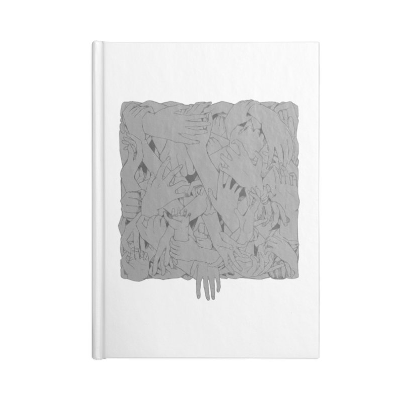 Handsy Accessories Notebook by Crantastic Graphics