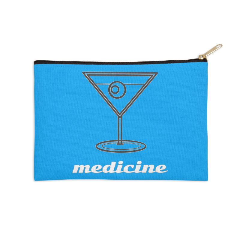 Martini Medicine Limited Accessories Zip Pouch by Watch What Crappens