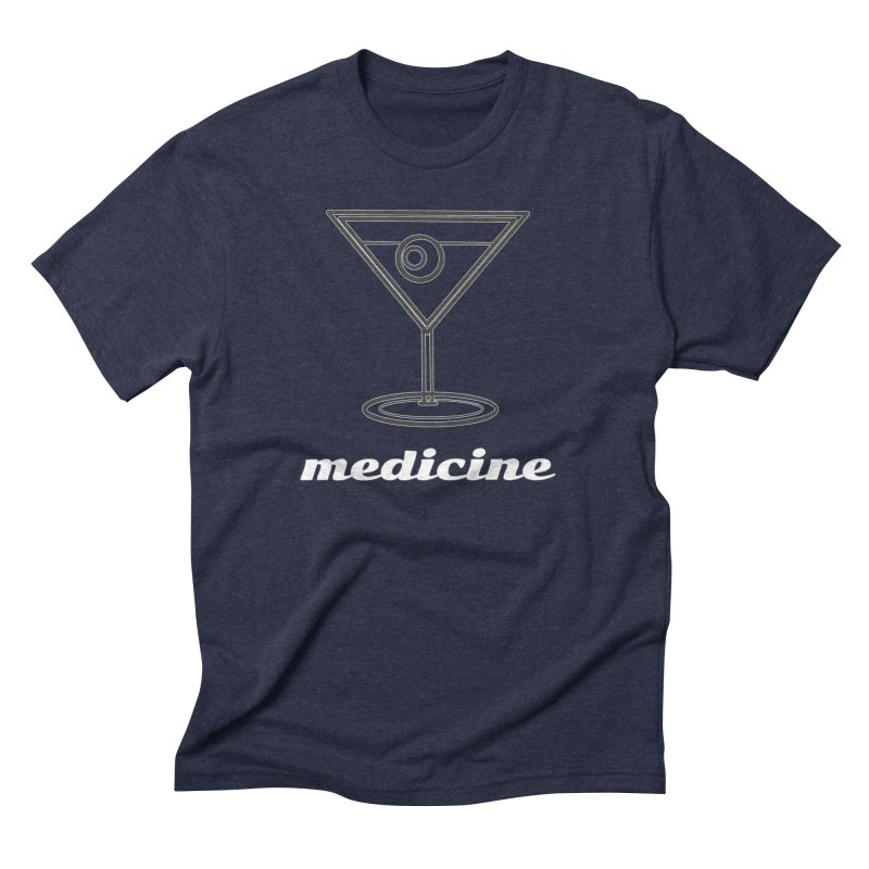 Martini Medicine Limited Men's Triblend T-Shirt by Watch What Crappens