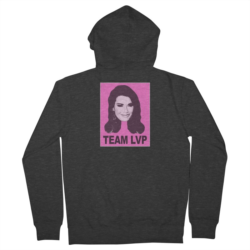 Team LVP Limited Women's French Terry Zip-Up Hoody by Watch What Crappens