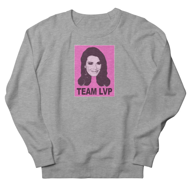 Team LVP Limited Women's French Terry Sweatshirt by Watch What Crappens