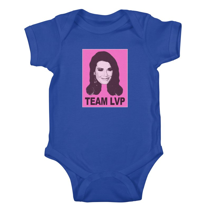 Team LVP Limited Kids Baby Bodysuit by Watch What Crappens