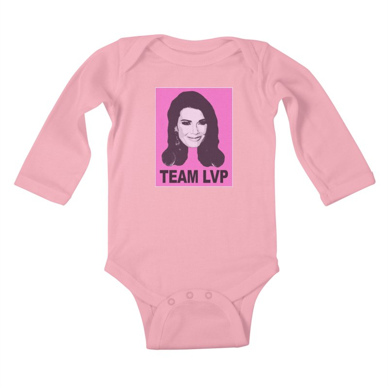Team LVP Limited Kids Baby Longsleeve Bodysuit by Watch What Crappens