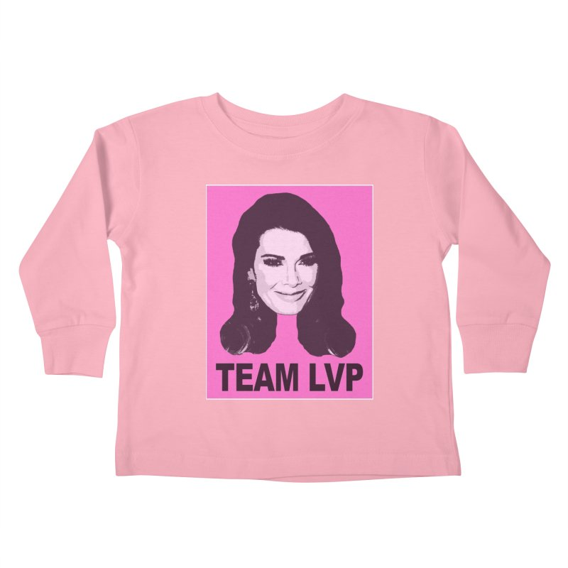 Team LVP Limited Kids Toddler Longsleeve T-Shirt by Watch What Crappens