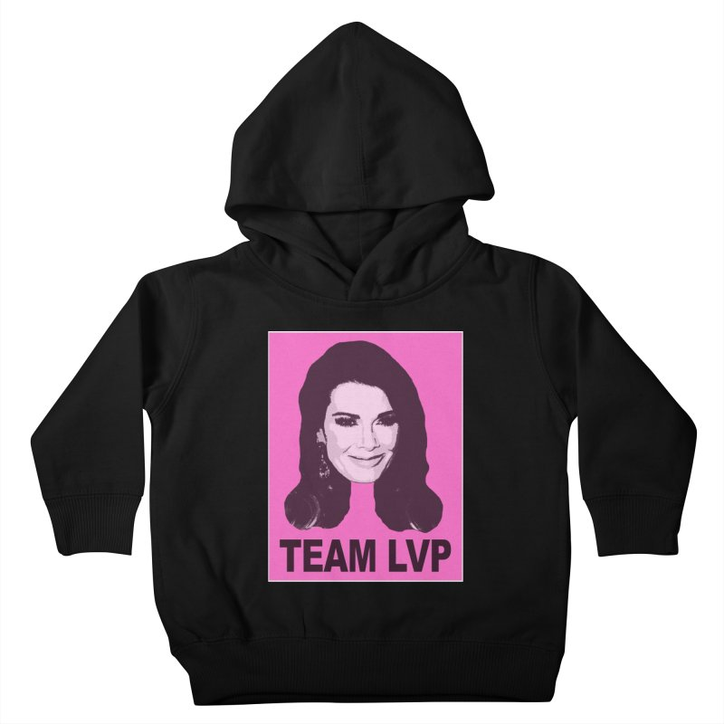 Team LVP Limited Kids Toddler Pullover Hoody by Watch What Crappens