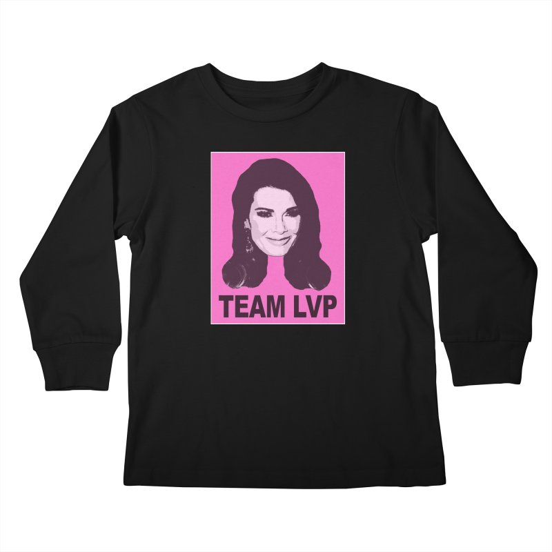 Team LVP Limited Kids Longsleeve T-Shirt by Watch What Crappens
