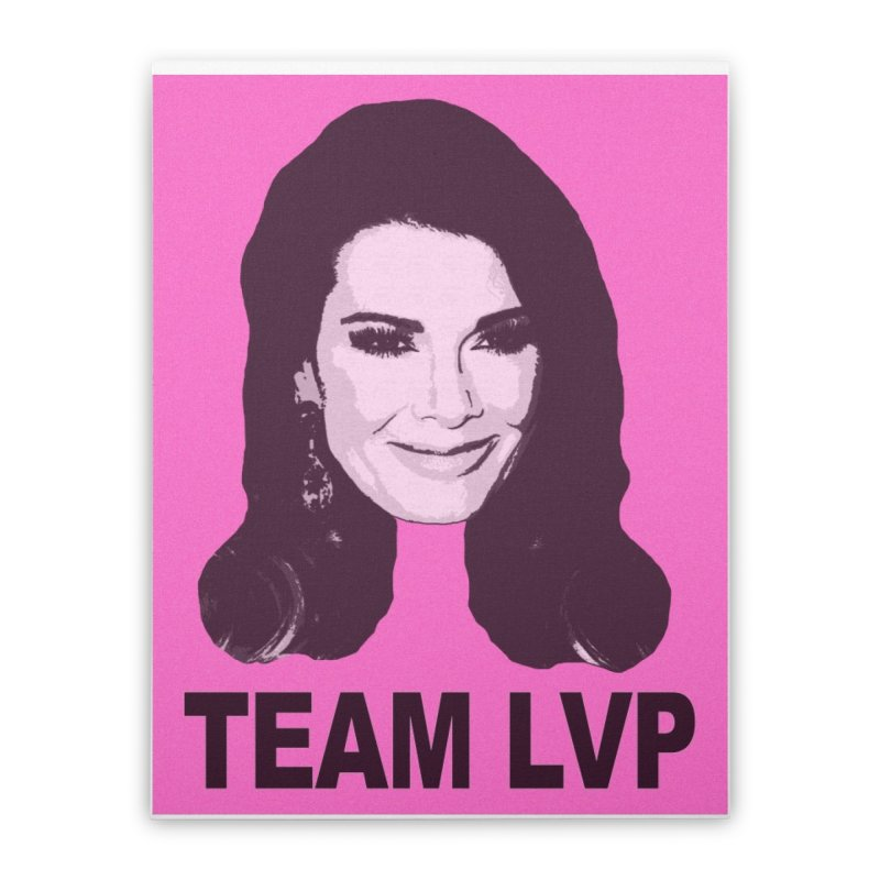 Team LVP Limited Home Stretched Canvas by Watch What Crappens