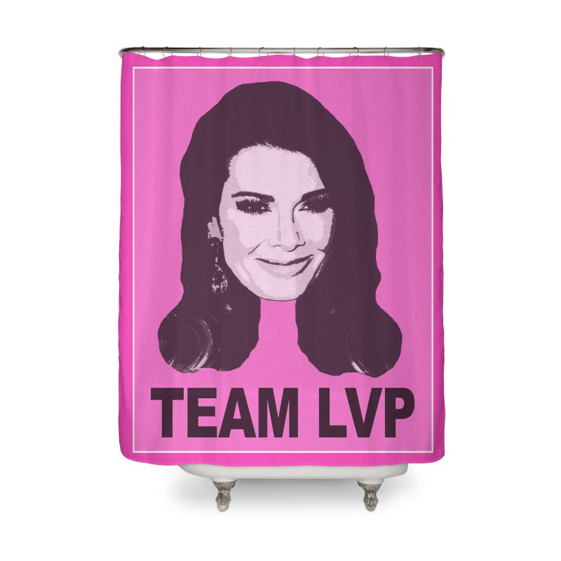 Team LVP Limited Home Shower Curtain by Watch What Crappens