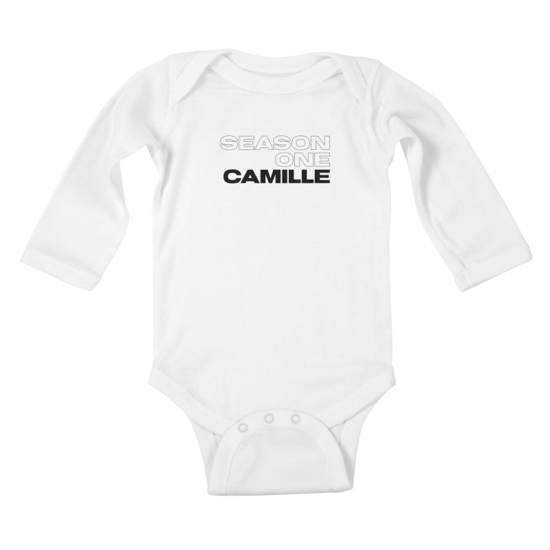 Season One Camille Limited Kids Baby Longsleeve Bodysuit by Watch What Crappens