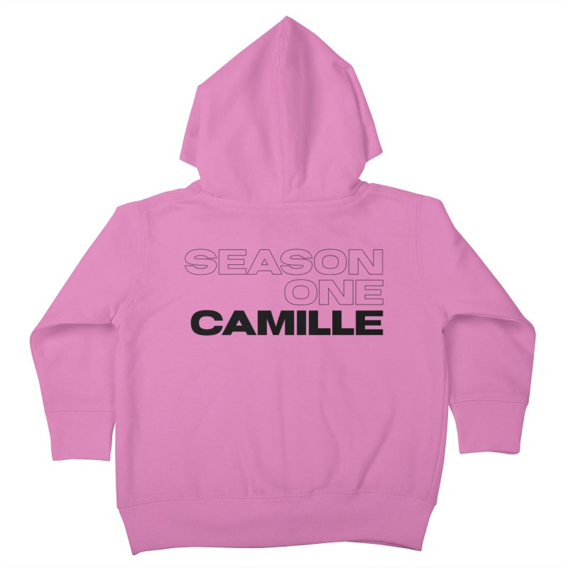 Season One Camille Limited Kids Toddler Zip-Up Hoody by Watch What Crappens
