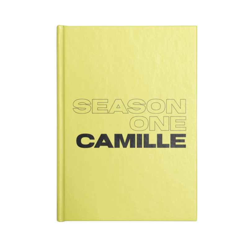 Season One Camille Limited Accessories Lined Journal Notebook by Watch What Crappens