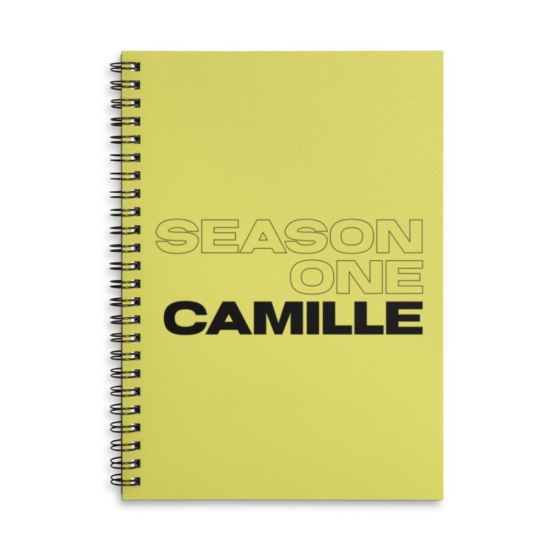 Season One Camille Limited Accessories Lined Spiral Notebook by Watch What Crappens