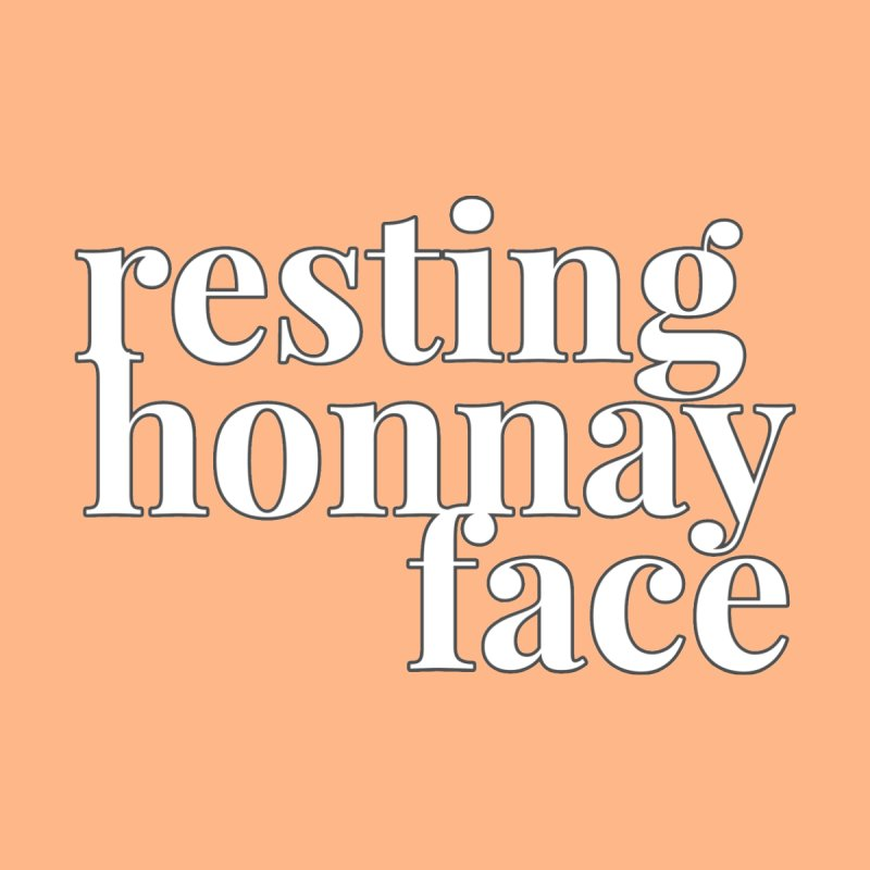 Resting Honnay Face Limited Men's T-Shirt by Watch What Crappens