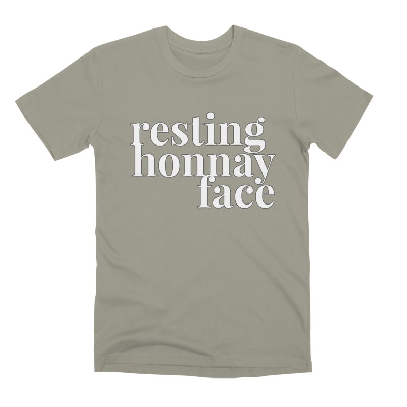 Resting Honnay Face Limited Men's Premium T-Shirt by Watch What Crappens