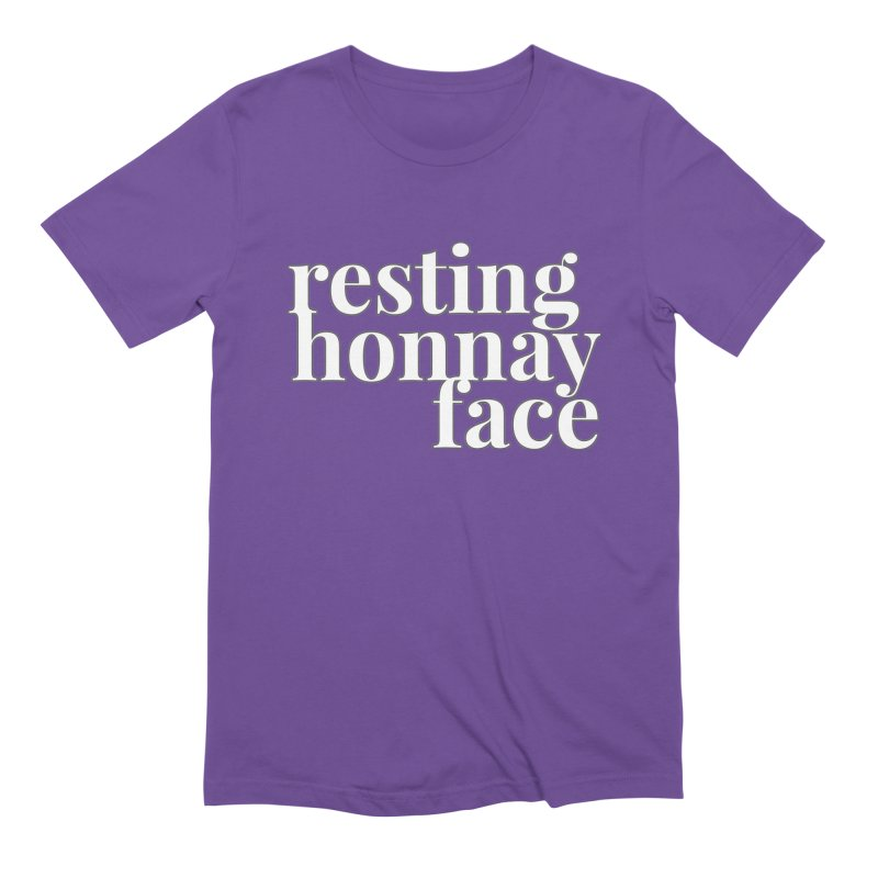 Resting Honnay Face Limited Men's Extra Soft T-Shirt by Watch What Crappens