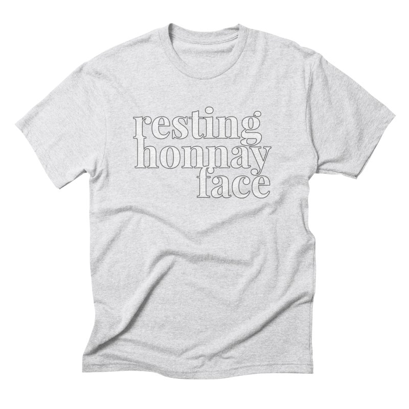 Resting Honnay Face Limited Men's Triblend T-Shirt by Watch What Crappens