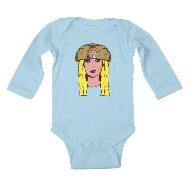 Shannon Bowldor Limited Kids Baby Longsleeve Bodysuit by Watch What Crappens