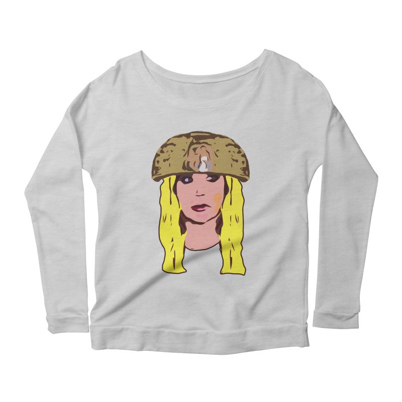 Shannon Bowldor Limited Women's Scoop Neck Longsleeve T-Shirt by Watch What Crappens