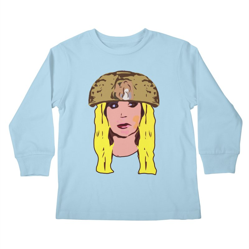 Shannon Bowldor Limited Kids Longsleeve T-Shirt by Watch What Crappens