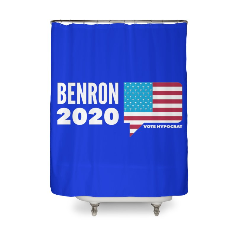 BenRon 2020 Vote Hypocrat Limited Home Shower Curtain by Watch What Crappens